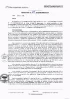 Resolución de la Oficina General de Administración y Finanzas N° 013-2016-MML/IMPL/OGAF