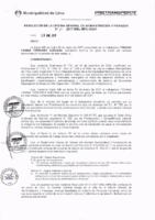 Resolución de la Oficina General de Administración y Finanzas N° 014-2017-MML/IMPL/OGAF