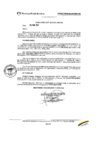 Resolución de Presidencia Ejecutiva N°015-2017-MML/IMPL/PE