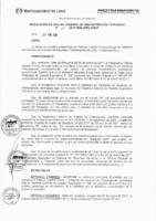 Resolución de la Oficina General de Administración y Finanzas N° 015-2017-MML/IMPL/OGAF