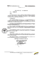 Resolución de Presidencia Ejecutiva N°016-2017-MML/IMPL/PE