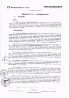 Resolución de la Oficina General de Administración y Finanzas N° 016-2017-MML/IMPL/OGAF