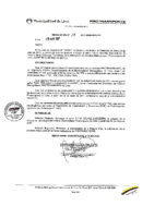Resolución de Presidencia Ejecutiva N°017-2017-MML/IMPL/PE