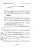 Resolución de la Oficina General de Administración y Finanzas N° 017-2017-MML/IMPL/OGAF