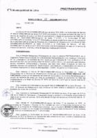 Resolución de la Oficina General de Administración y Finanzas N° 018-2016-MML/IMPL/OGAF