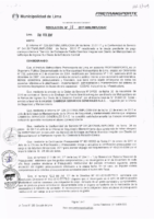Resolución de la Oficina General de Administración y Finanzas N° 018-2017-MML/IMPL/OGAF