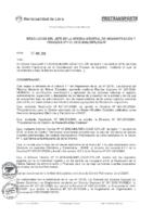 Resolución de la Oficina General de Administración y Finanzas N°020-2018-MML/IMPL/OGAF.