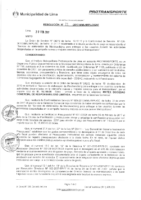 Resolución de la Oficina General de Administración y Finanzas N° 022-2017-MML/IMPL/OGAF