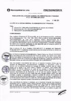 Resolución de la Oficina General de Administración y Finanzas N° 024-2016-MML/IMPL/OGAF