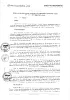 Resolución de la Oficina General de Administración y Finanzas N° 024-2017-MML/IMPL/OGAF
