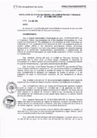 Resolución de la Oficina General de Administración y Finanzas N° 028-2016-MML/IMPL/OGAF