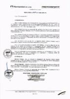 Resolución de Presidencia Ejecutiva N°028-2017-MML/IMPL/PE