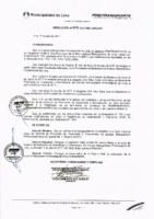 Resolución de Presidencia Ejecutiva N°029-2017-MML/IMPL/PE
