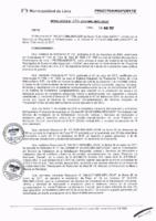 Resolución de la Oficina General de Administración y Finanzas N° 030-2017-MML/IMPL/OGAF
