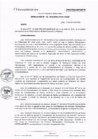 Resolución de la Oficina General de Administración y Finanzas N° 031-2016-MML/IMPL/OGAF