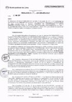 Resolución de la Oficina General de Administración y Finanzas N° 031-2017-MML/IMPL/OGAF