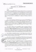 Resolución de la Oficina General de Administración y Finanzas N° 032-2016-MML/IMPL/OGAF