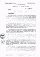 Resolución de la Oficina General de Administración y Finanzas N° 033-2017-MML/IMPL/OGAF
