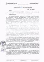 Resolución de la Oficina General de Administración y Finanzas N° 034-2017-MML/IMPL/OGAF