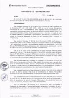 Resolución de la Oficina General de Administración y Finanzas N° 036-2017-MML/IMPL/OGAF