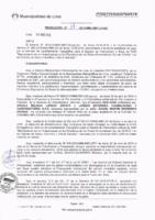 Resolución de la Oficina General de Administración y Finanzas N° 037-2016-MML/IMPL/OGAF