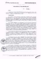 Resolución de la Oficina General de Administración y Finanzas N° 037-2017-MML/IMPL/OGAF