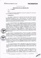 Resolución de la Oficina General de Administración y Finanzas N° 040-2017-MML/IMPL/OGAF