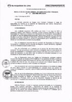 Resolución de la Oficina General de Administración y Finanzas N° 041-2016-MML/IMPL/OGAF