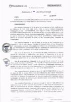 Resolución de la Oficina General de Administración y Finanzas N° 043-2017-MML/IMPL/OGAF