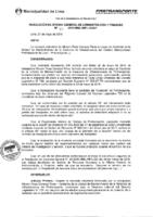 Resolución de la Oficina General de Administración y Finanzas N° 044-2016-MML/IMPL/OGAF