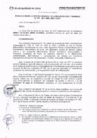 Resolución de la Oficina General de Administración y Finanzas N° 044-2017-MML/IMPL/OGAF
