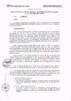 Resolución de la Oficina General de Administración y Finanzas N° 045-2017-MML/IMPL/OGAF