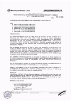 Resolución de la Oficina General de Administración y Finanzas N° 047-2016-MML/IMPL/OGAF