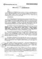 Resolución de la Oficina General de Administración y Finanzas N° 048-2016-MML/IMPL/OGAF