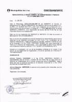 Resolución de la Oficina General de Administración y Finanzas N° 052-2016-MML/IMPL/OGAF
