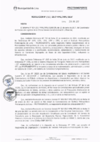 Resolución de la Oficina General de Administración y Finanzas N° 052-2017-MML/IMPL/OGAF