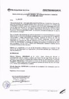 Resolución de la Oficina General de Administración y Finanzas N° 053-2016-MML/IMPL/OGAF
