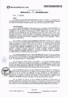 Resolución de la Oficina General de Administración y Finanzas N° 054-2016-MML/IMPL/OGAF