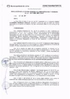 Resolución de la Oficina General de Administración y Finanzas N° 054-2017-MML/IMPL/OGAF