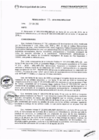 Resolución de la Oficina General de Administración y Finanzas N° 055-2016-MML/IMPL/OGAF