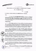 Resolución de la Oficina General de Administración y Finanzas N° 062-2016-MML/IMPL/OGAF