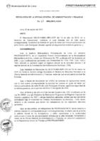 Resolución de la Oficina General de Administración y Finanzas N° 065-2016-MML/IMPL/OGAF