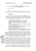 Resolución de la Oficina General de Administración y Finanzas N° 072-2016-MML/IMPL/OGAF