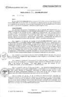 Resolución de la Oficina General de Administración y Finanzas N° 074-2016-MML/IMPL/OGAF