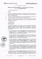 Resolución de la Oficina General de Administración y Finanzas N° 075-2016-MML/IMPL/OGAF