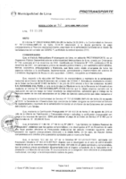 Resolución de la Oficina General de Administración y Finanzas N° 078-2016-MML/IMPL/OGAF