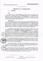 Resolución de la Oficina General de Administración y Finanzas N° 079-2016-MML/IMPL/OGAF