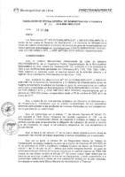 Resolución de la Oficina General de Administración y Finanzas N° 086-2016-MML/IMPL/OGAF