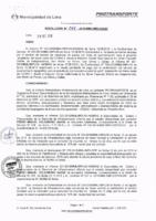 Resolución de la Oficina General de Administración y Finanzas N° 094-2016-MML/IMPL/OGAF