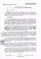 Resolución de la Oficina General de Administración y Finanzas N° 095-2016-MML/IMPL/OGAF